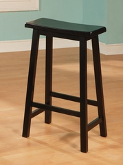 "Yates 29"" Wooden Bar Stool - Set of 2 - 180099N"