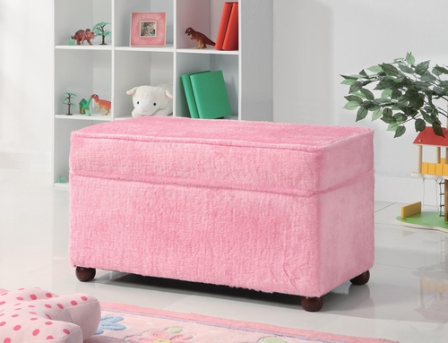 Youth Seating and Storage Upholstered Bench - 460451