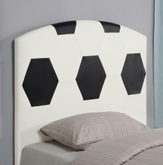 Youth Twin Sports Soccer Ball Headboard - 460168
