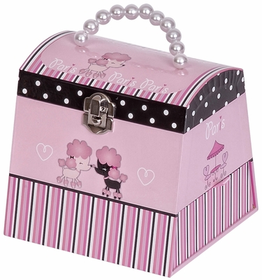 Yvette Girl's Musical Ballerina Jewelry Box - 00719S13