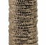 Zaras Tall Ceramic Bottle in Bronze Finish - IMAX - 1535