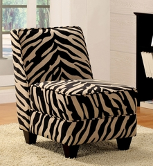 Zebra Fabric Chair - Makala - 10070