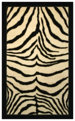 Zebra Safari Floor Rug - 970018