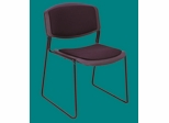 Zeng, Stacker, w/ Padded seat and back - ROF-4450-BK