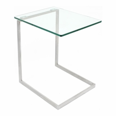 Zenn Glass End Table - Lumisource