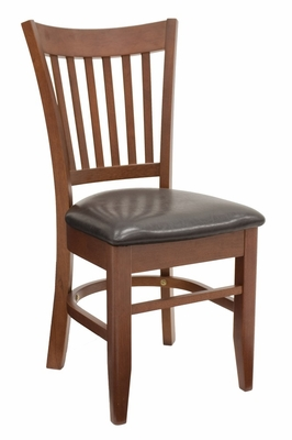 Zoe, Wood Restaurant Chair - ROF-8057-CHBK
