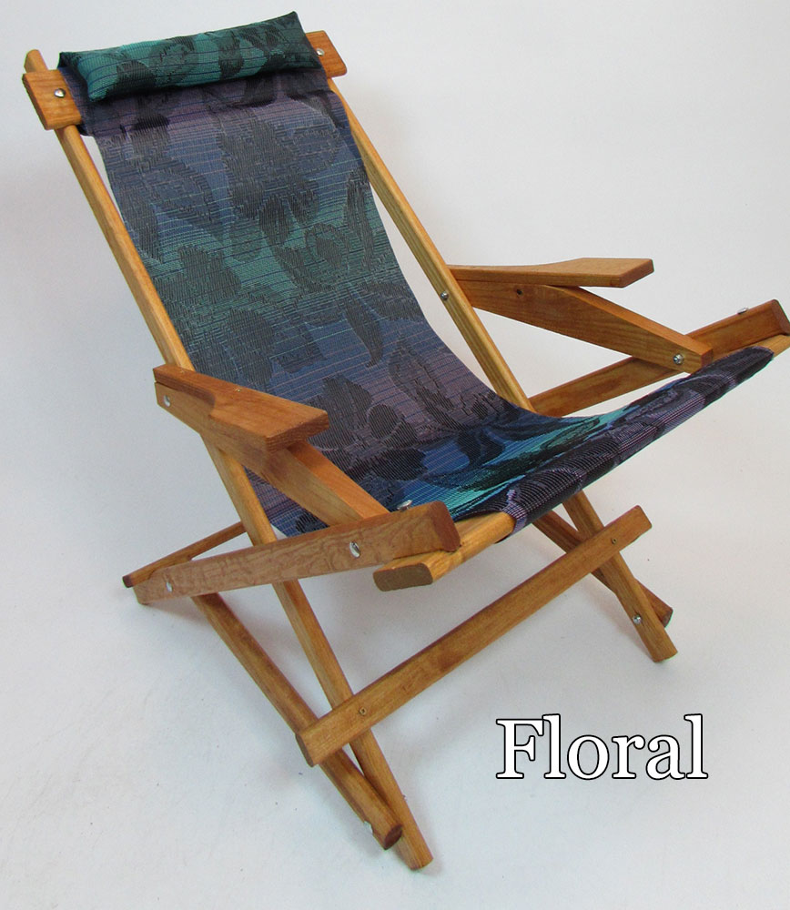 Wooden Folding Rocking Chair -