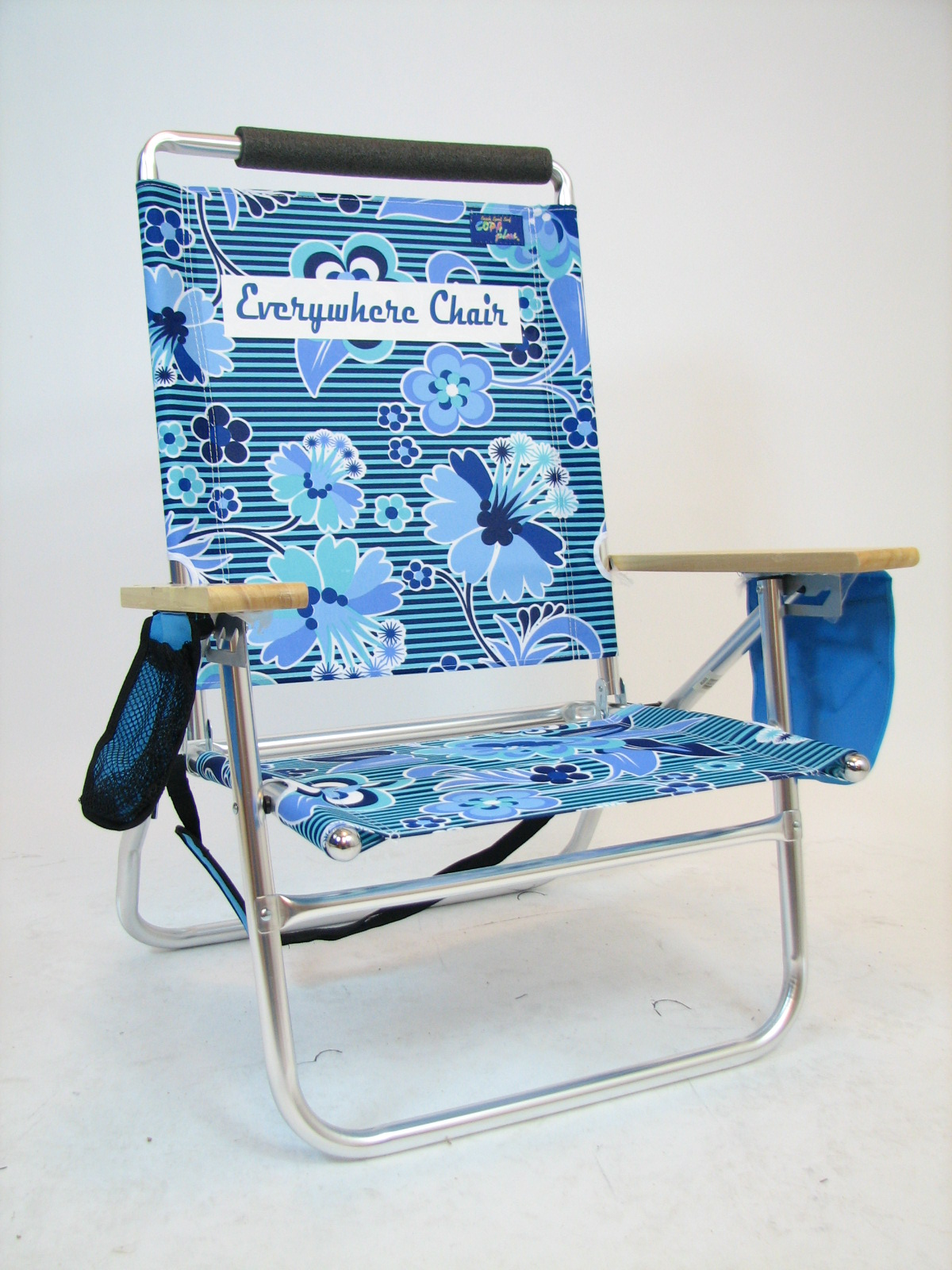IMPRINTED Personalized Lazy Beach 3 Position Beach Chair by JGR Copa Personalized Chair Sale
