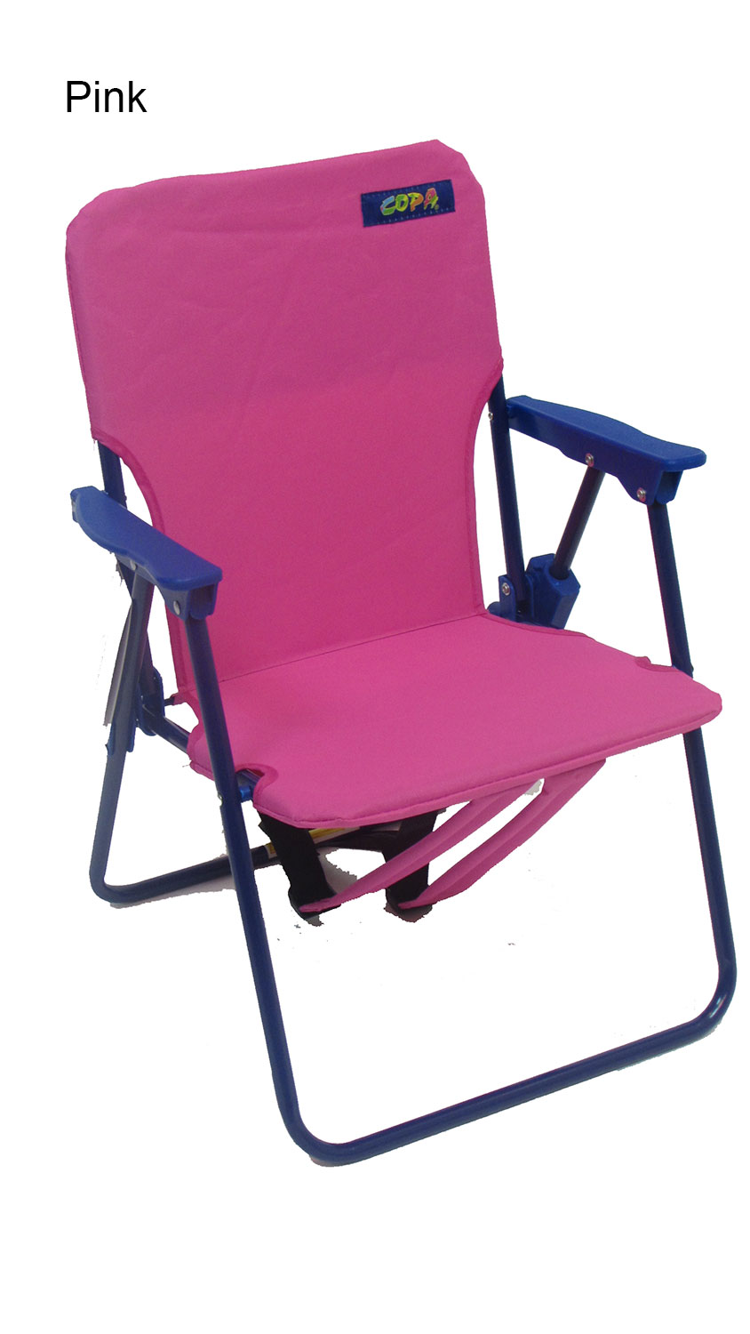 Kids Backpack Beach Chair on rocking chair back rests