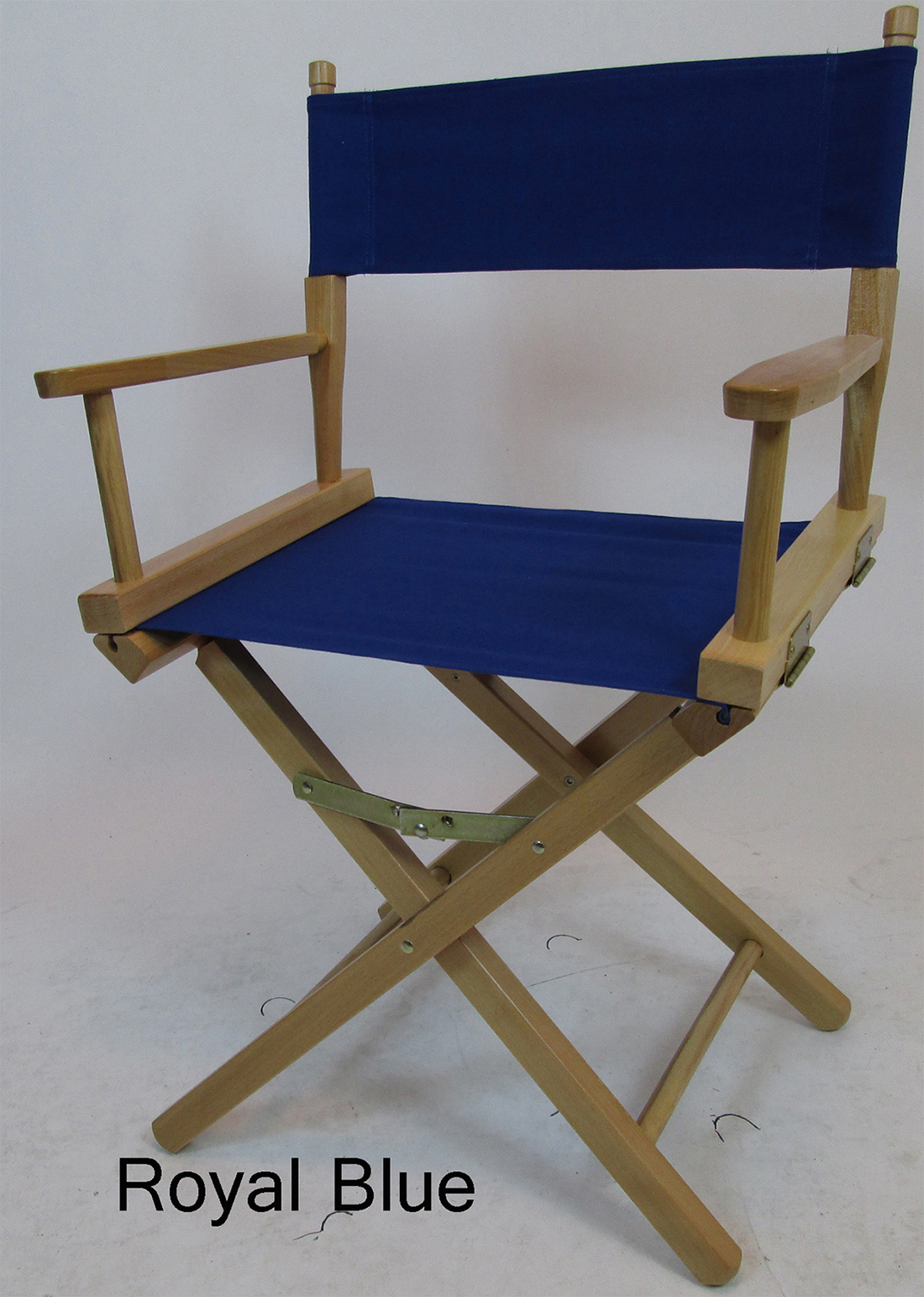 Limited Edition Directors Chair Replacement Canvas Cover Royal Blue Limit