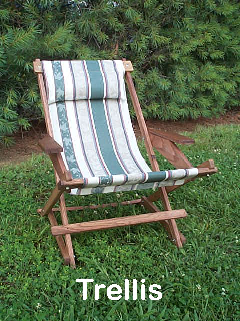 Pine Folding Rocking Chair Replacement Sling With 5 Quot Loops