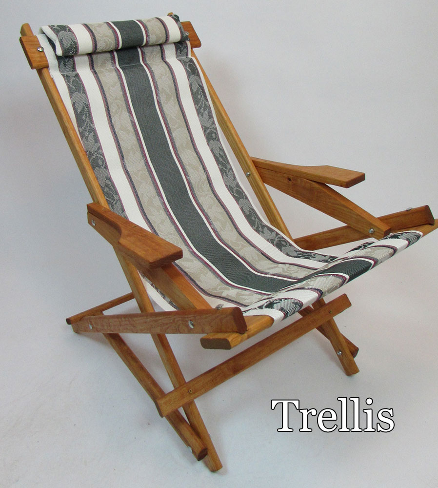 """Pine Folding Rocking Chair Replacement Sling With 5"""" Loops ..."""