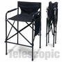 """Quad Style"" Tall Aluminum Directors Chair"