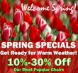 Spring Chair Sale