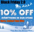 Black Friday Redux 10% Off Sale