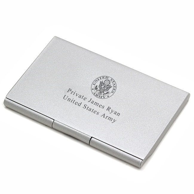 US Army Business Card Case Military Americana