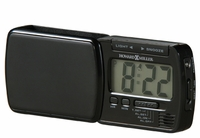 Blackstone Travel Alarm Clock by Howard Miller
