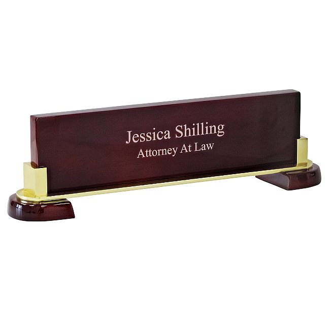 choose a job you love desk name plate name bars