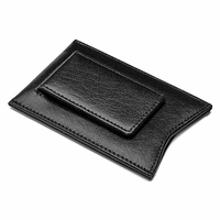 Primo Leather Magnetic Money Clip Wallet - Free Personalization
