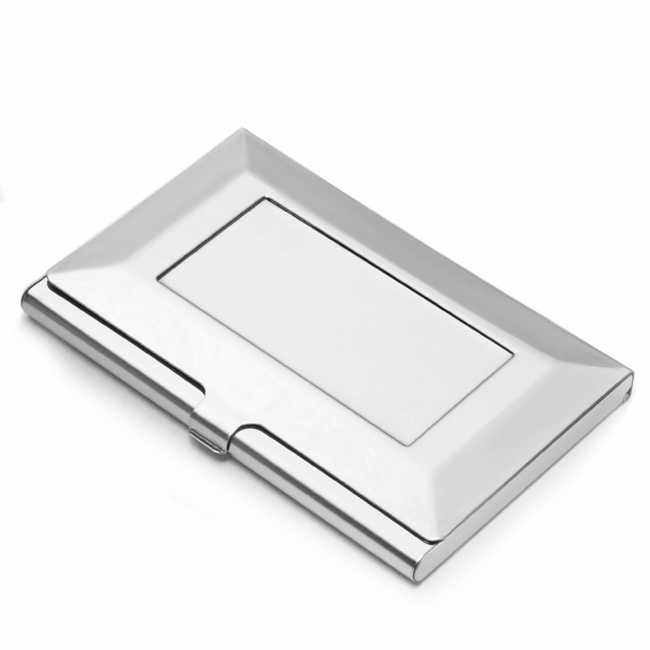 The Frame Stainless Steel Business Card Holder Free