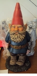 "Damaged 24""H Gnome Statue"