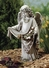 "Angel With Birds Statue 16""H"