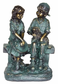 "Young Love Statue 16""H"