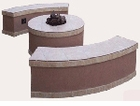 Bench for Santa Cruz Fire Pit (Set of 2)