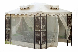 Bug Screen For Bradbury Gazebo (Green/White)