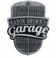 Car Grille Garage Plaque - Standard Wall - One Line
