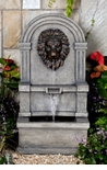 Classic Lion Face Wall Water Fountain