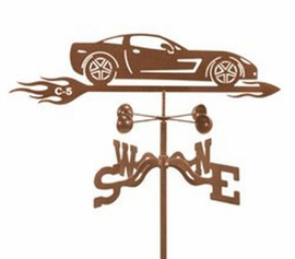 Corvette C-5 Weathervane (Roof Mount)