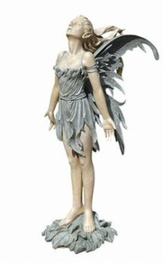 Damaged Spirit of the Wind Fairy Statue