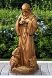 Damaged St Francis Caretaker Statue