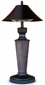 Damaged Vacation Day Electric Tabletop Patio Heater
