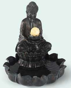Defective  	Small Buddha Fountain