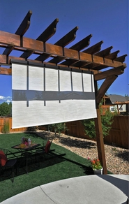 Diamond Series Plus Interior/Exterior Sun Shade 8'W x 8'H