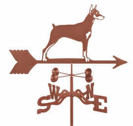 Doberman Weathervane