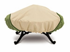 Eco Round Fire Pit Cover