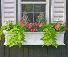 "Fairfield 48"" Window Box w/ Water Reservoir"