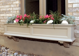 "Fairfield 60"" Window Box with Water Reservoir"