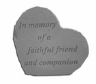In Memory Of A Faithful Friend