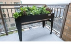 LGarden Balcony Elevated Garden System (Black)