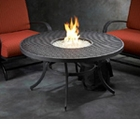 Nightfire-42- Round Mesh Fire Pit Table
