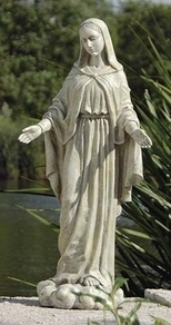 "Our Lady Of Grace Statue 24""H"