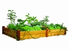 Raised Garden Bed 48x95x13 Safe Finish