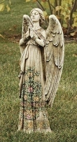 "Praying Angel Statue 24""H"