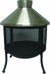 Stainless Steel Dome Fire Pit