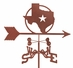 Texas Star Weathervane