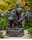 Water Pump and Kids Fountain with LED Light